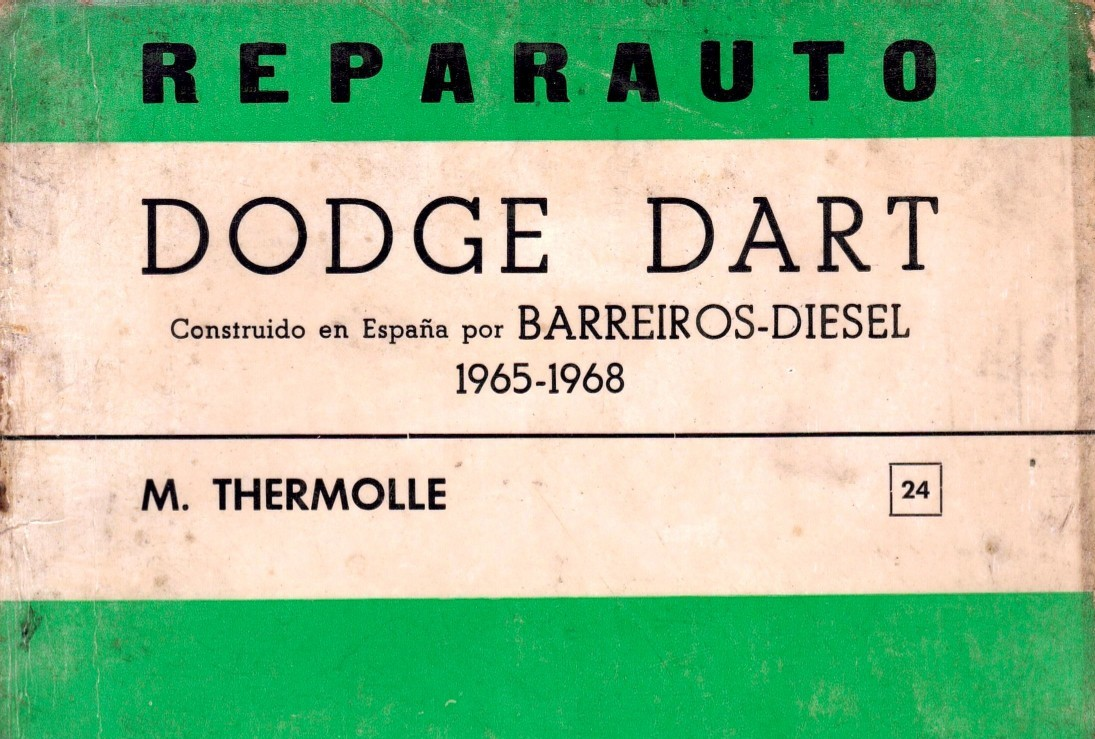 Manual Taller Dodge Dart 1965-68 Reparauto